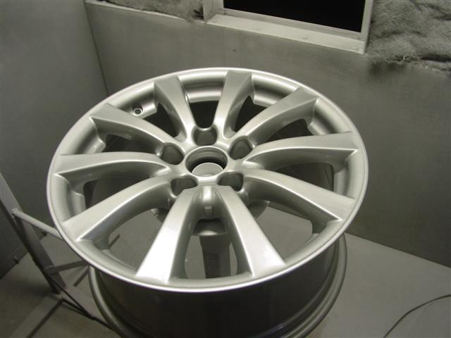 Step 6: Coating the wheel
